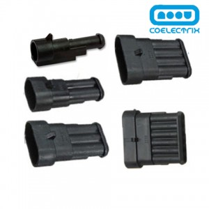 Conector superseal porta machos