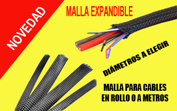 malla expandible