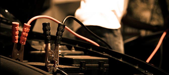 cables para arrancar baterías