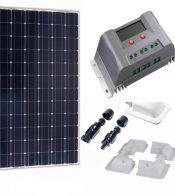 Kit Solar 180W Monocristalino con regulador MPPT 15A