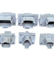 Conectores Amphenol a Panel porta Machos